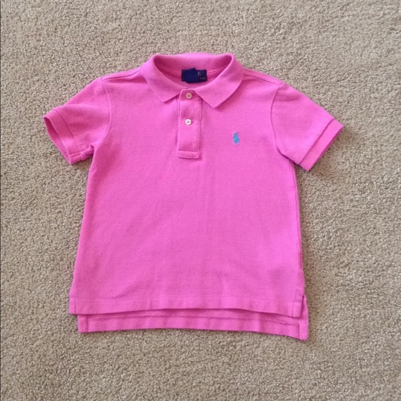 0c0b6a5c4 Polo by Ralph Lauren Shirts & Tops | Pink Toddler Girl Polo 3t ...